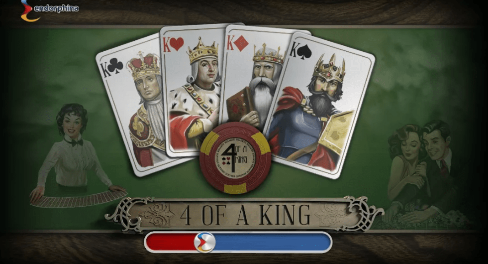4 of a King Slot Game Symbols and Winning Combinations