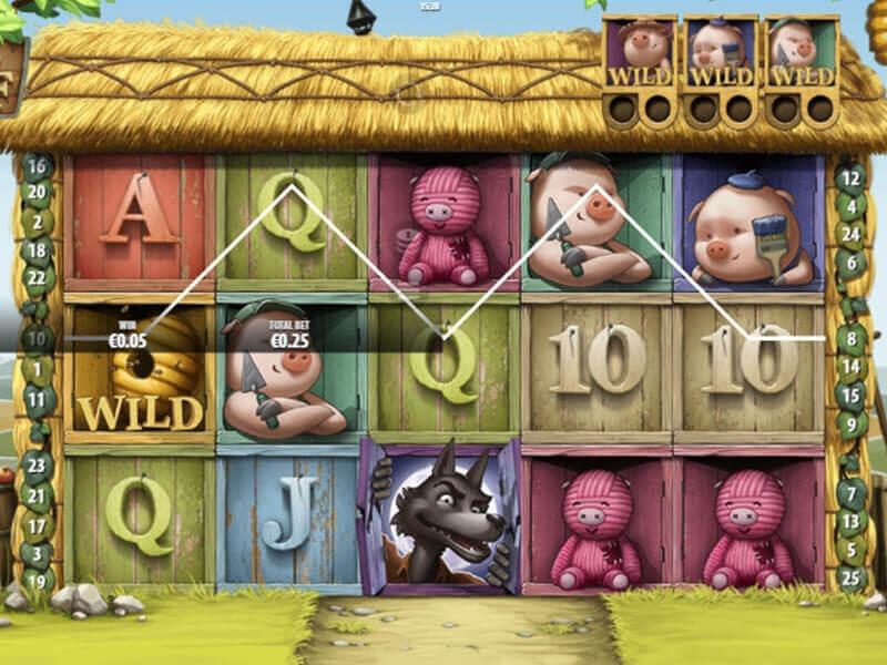 Big Bad Wolf Slot Machine - How to Play
