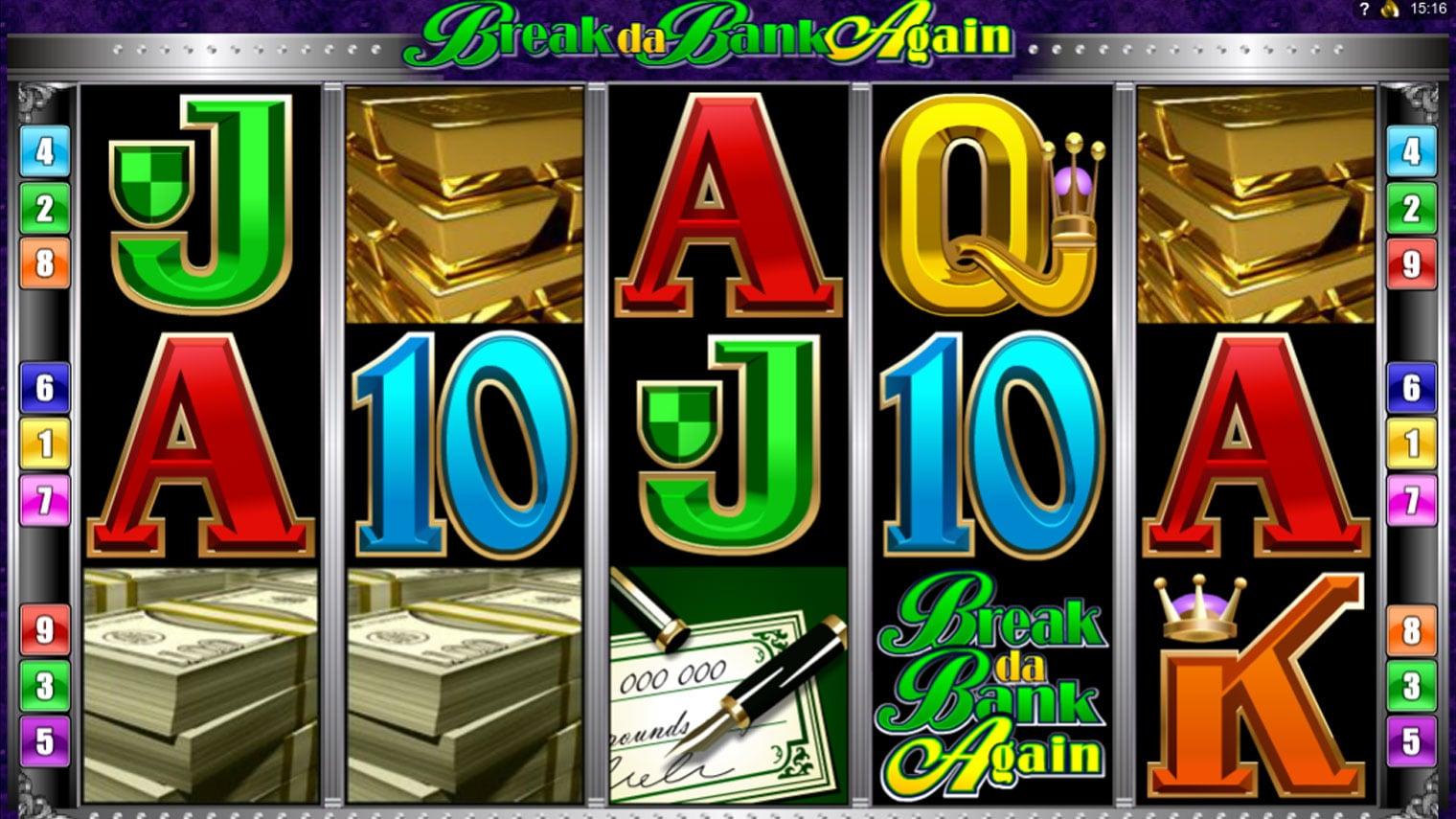 Break da Bank Again Slot Machine - How to Play