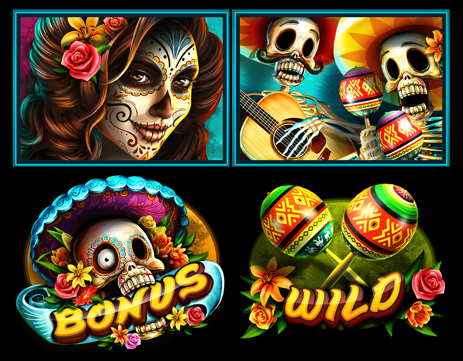 Day of the Dead Slot Game Symbols and Winning Combinations