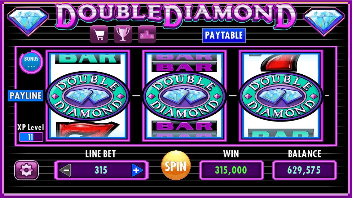 Double Diamond Slot Machine - How to Play