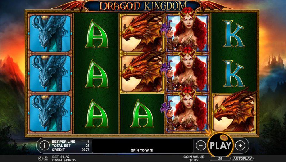 Dragon Kingdom Slot Machine - How to Play