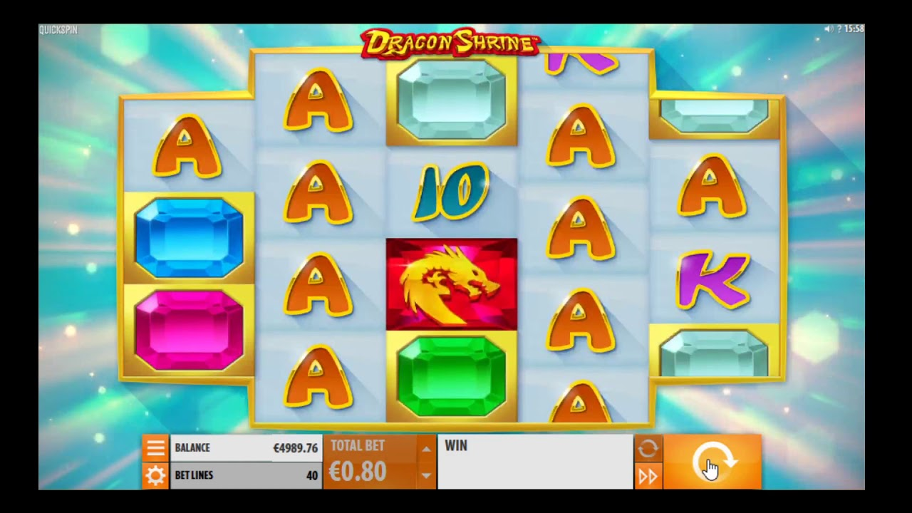 Dragon Shrine Slot Machine - How to Play
