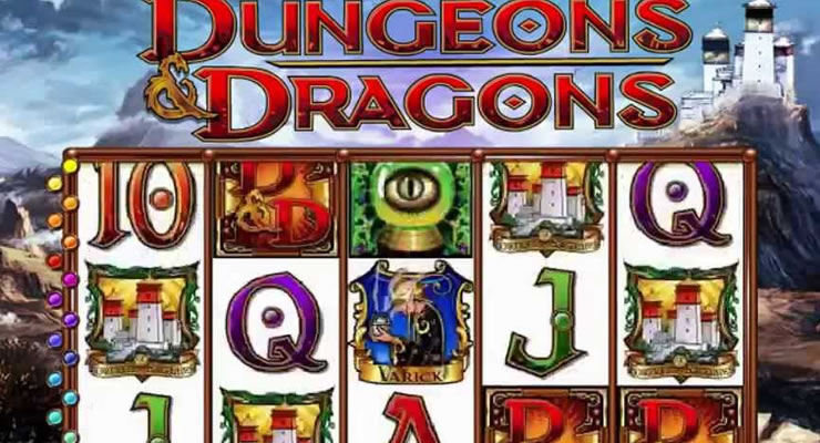 Dungeons and Dragons Slot Machine - How to Play