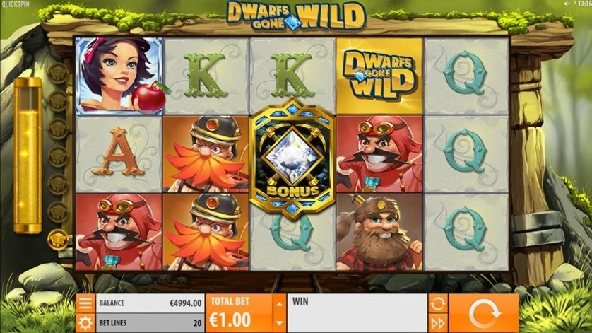 Dwarfs Gone Wild Slot Machine - How to Play