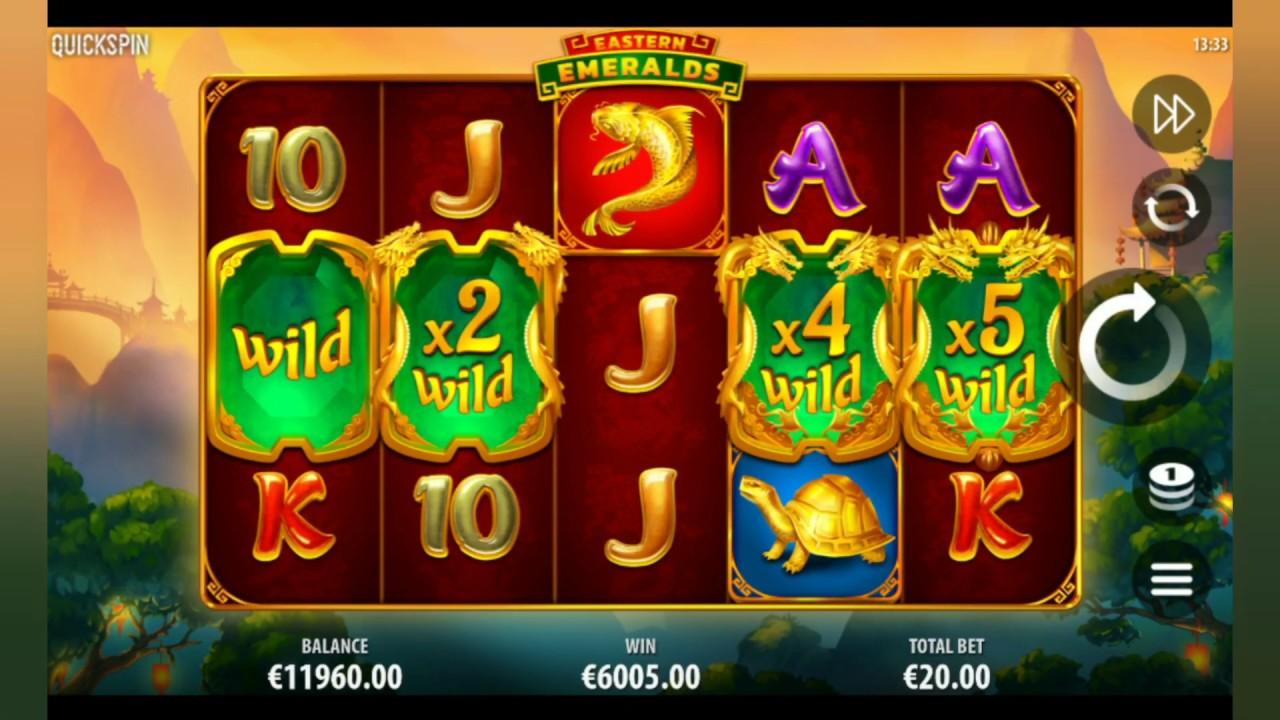 Eastern Emeralds Slot Machine - How to Play