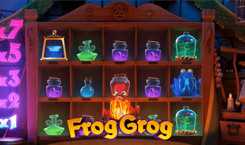 Frog Grog Slot Machine - How to Play
