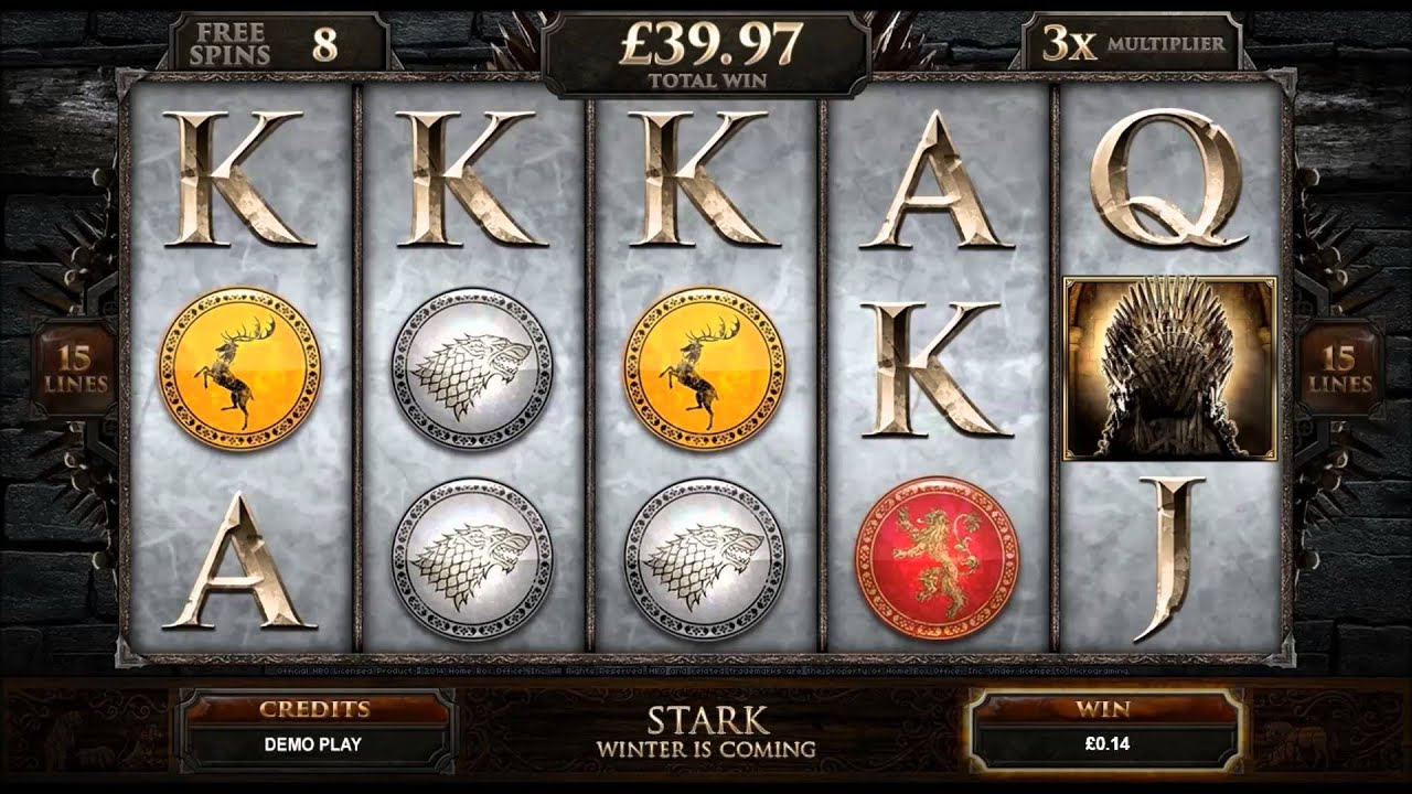 Game of Thrones Slot Machine - How to Play