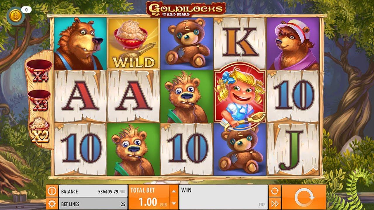 Goldilocks Slot Machine - How to Play