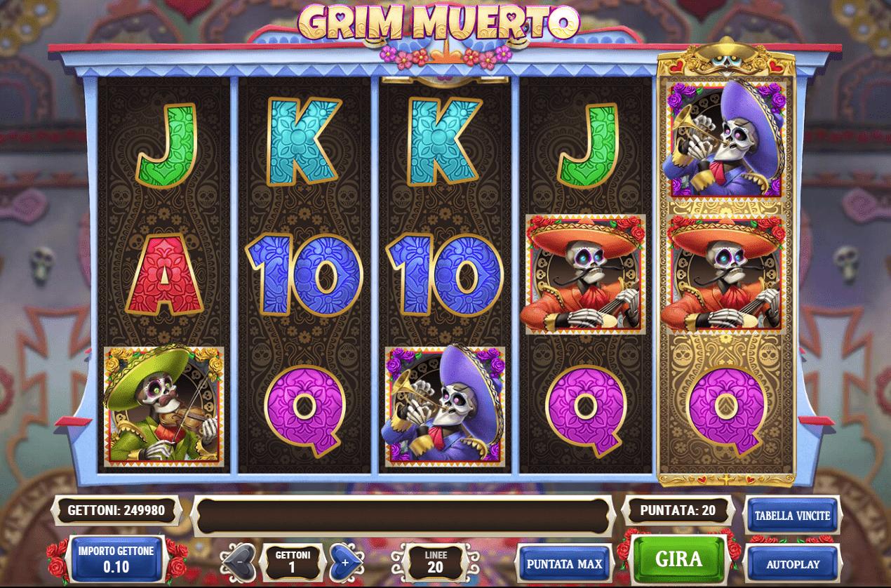 Grim Muerto Slot Machine - How to Play