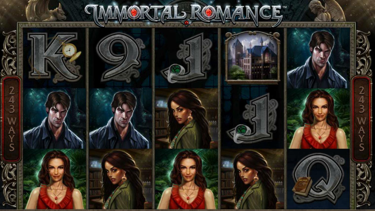 Immortal romance Slot Machine - How to Play