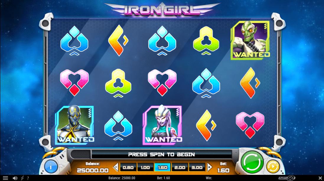 Iron Girl Slot Game Symbols and Winning Combinations