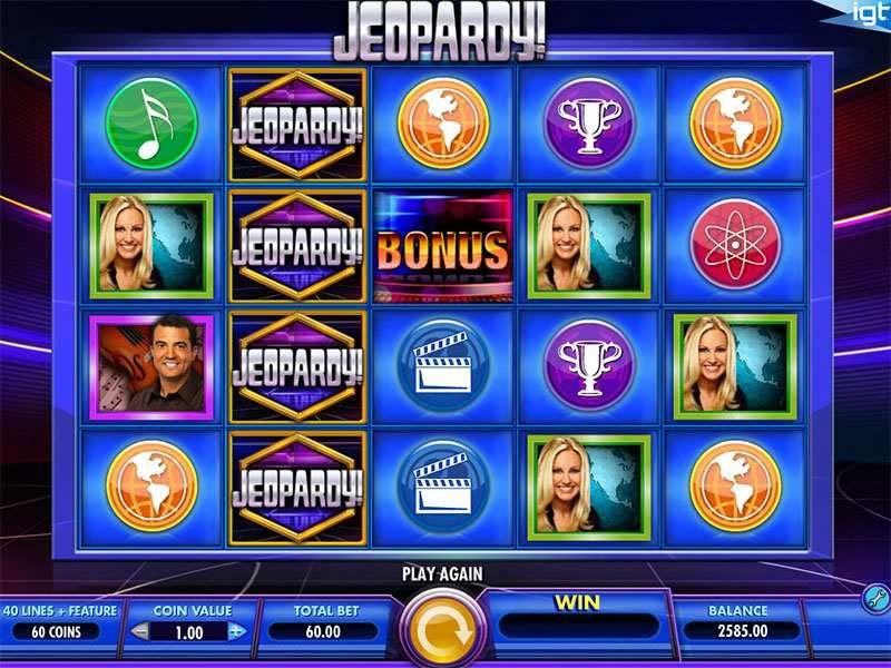 Jeopardy! Slot Machine - How to Play