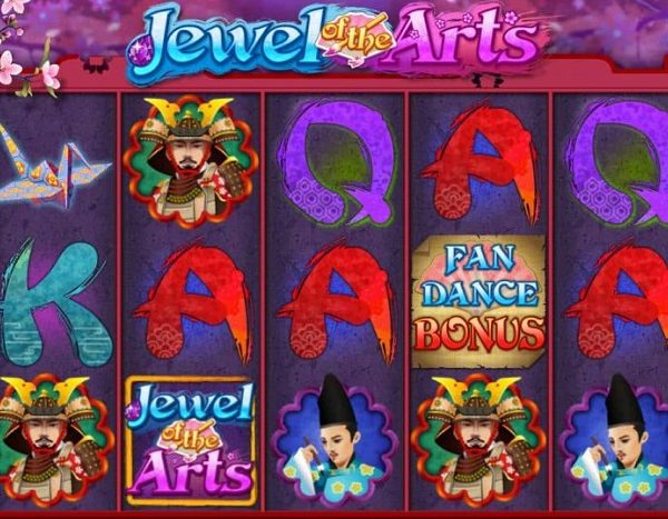 Jewel of the Arts Slot Machine - How to Play