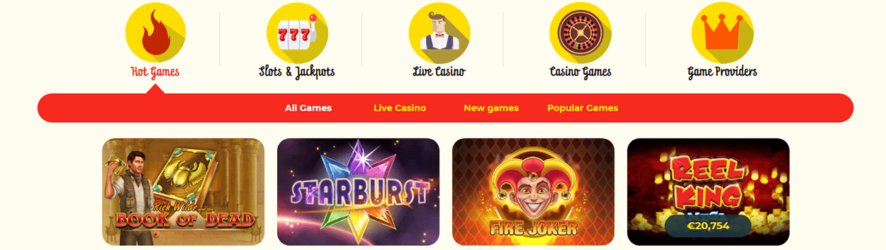 kassu casino games