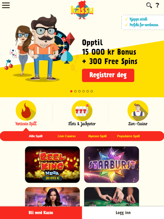 21Casino iOS & Android tablets