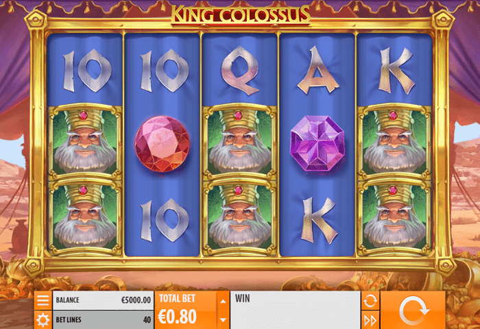 King Colossus Slot Game Symbols and Winning Combinations