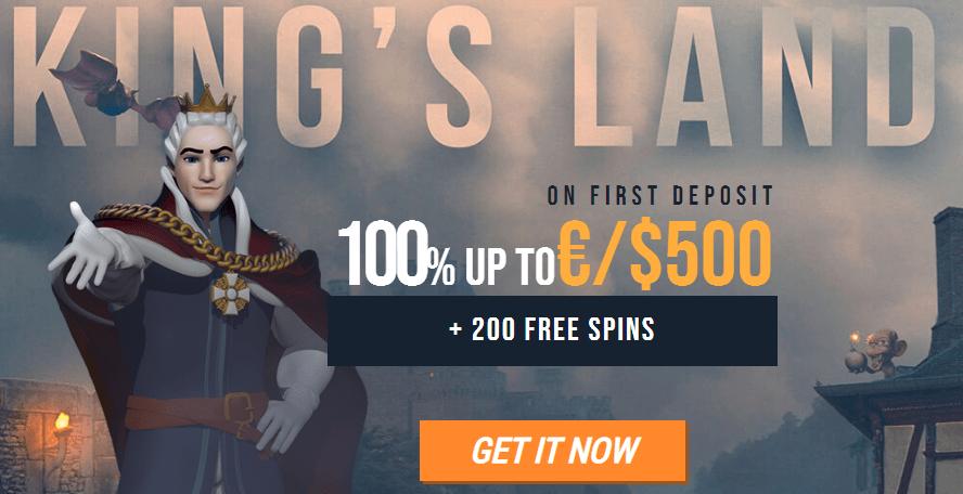 kingbilly bonus