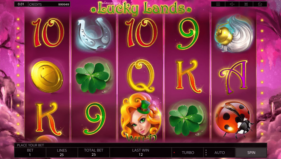 Lucky Lands Slot Machine - How to Play