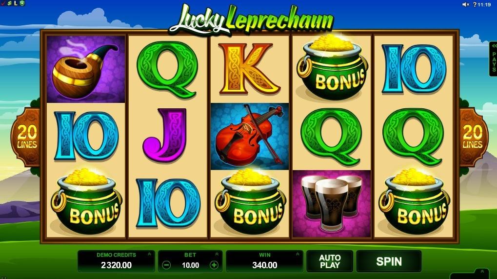 Lucky Leprechaun Slot Machine - How to Play