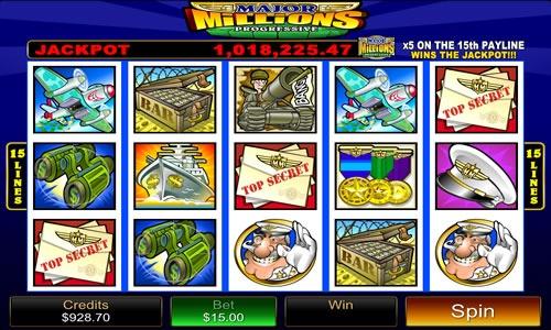 Major Millions Slot Game Symbols and Winning Combinations