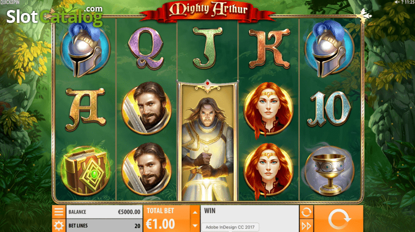 Mighty Arthur Slot Machine - How to Play
