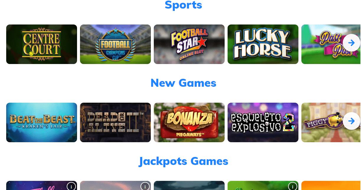 mrq casino games