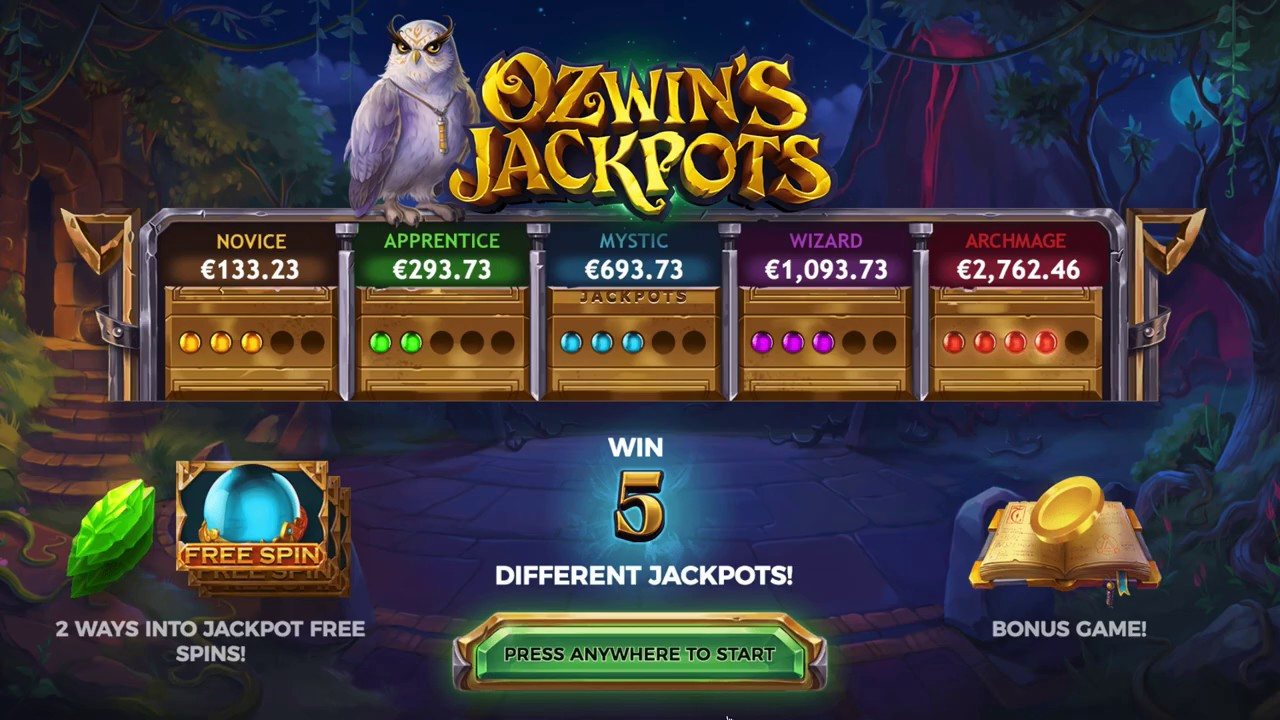 Ozwins Jackpots Slot Game Symbols and Winning Combinations