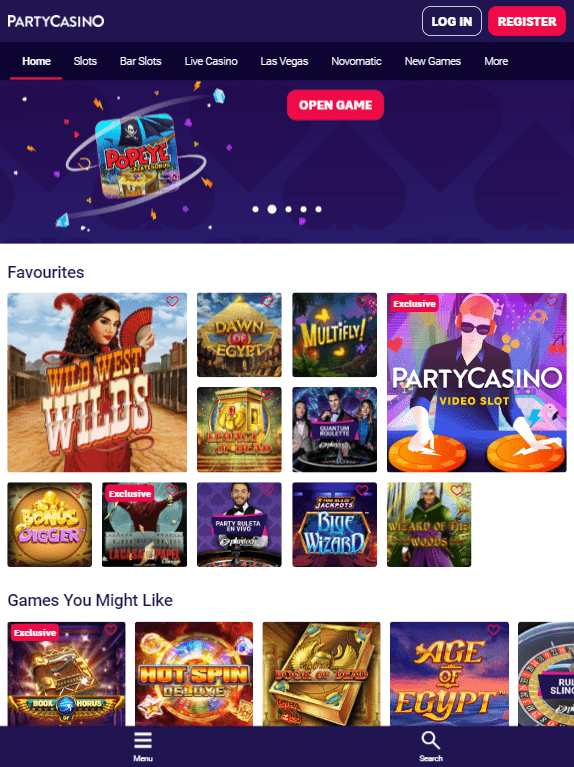 Party iOS & Android tablets