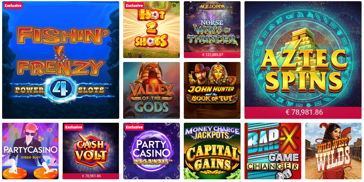 party slots