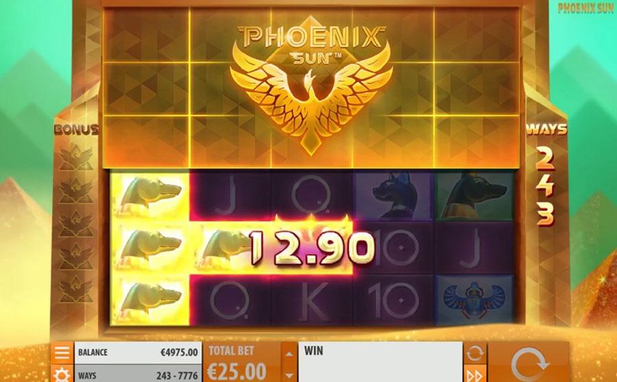 Phoenix Sun Slot Machine - How to Play