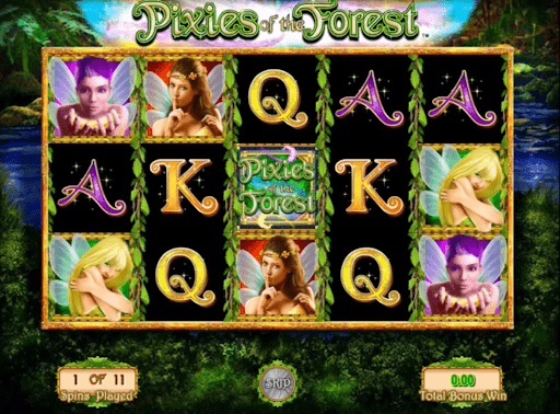 Pixies of the Forest Slot Machine - How to Play