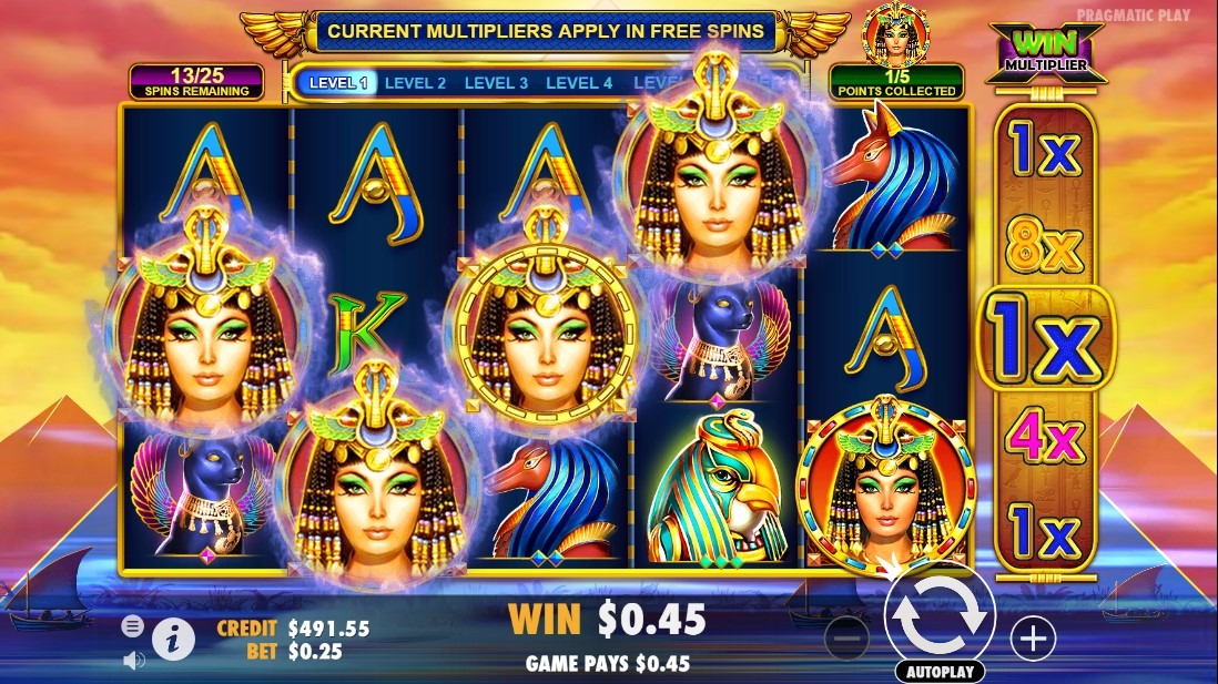 Queen of Gold Slot Machine - How to Play