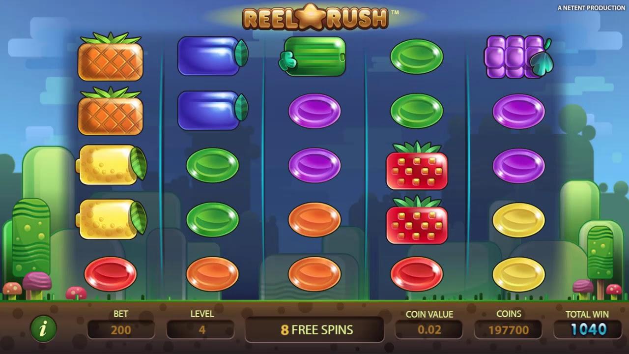 Reel Rush Slot Game Symbols and Winning Combinations