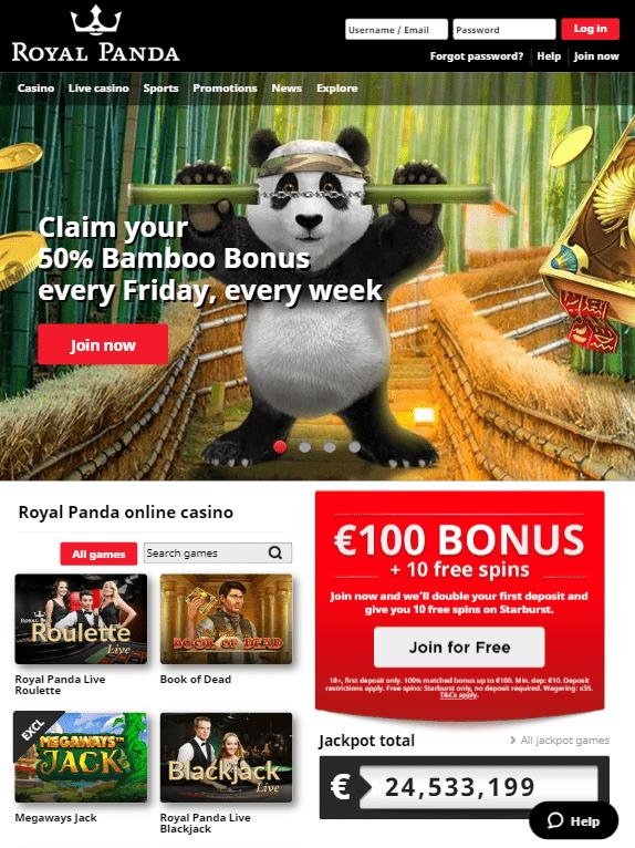 Royal Panda iOS & Android tablets