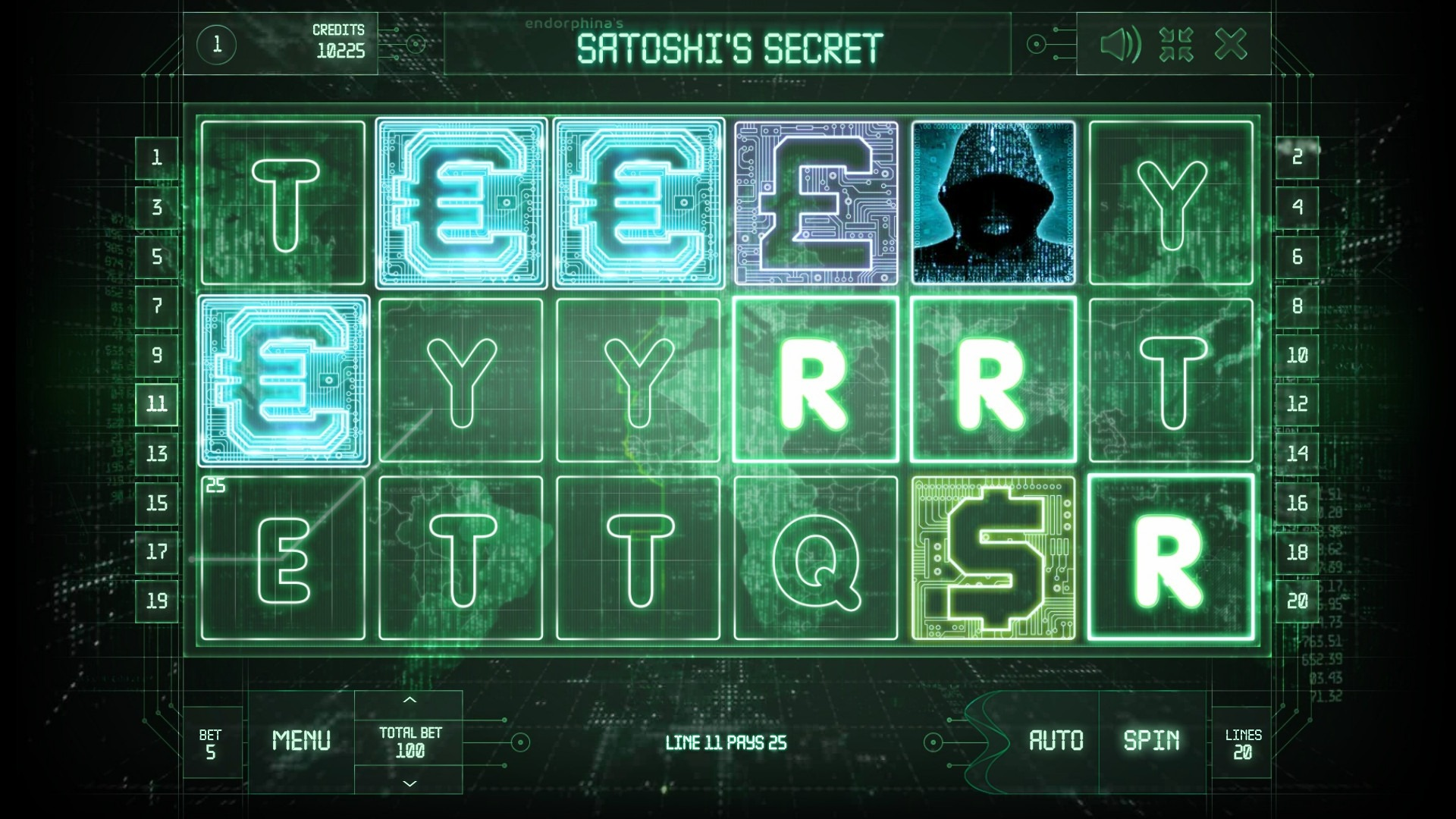 Satoshi's Secret Slot Machine - How to Play
