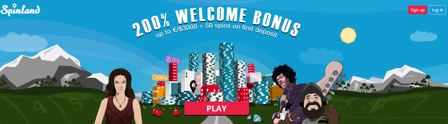 spinland bonus