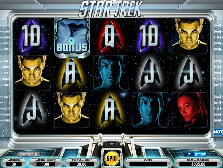 Star Trek Slot Machine - How to Play