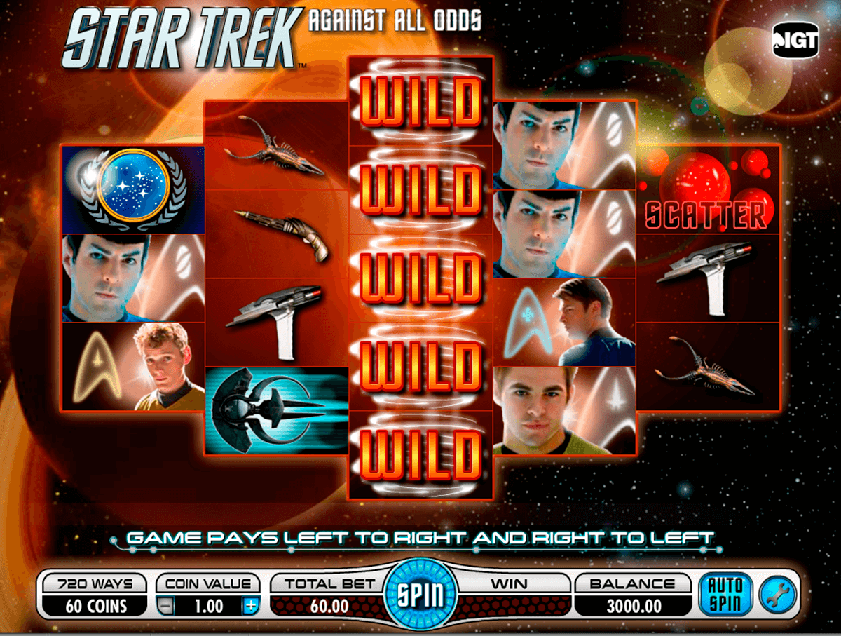 Star Trek Slot Game Symbols and Winning Combinations