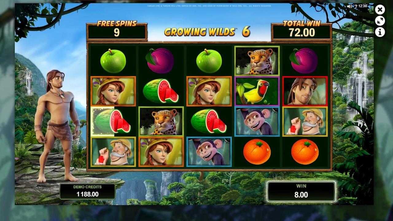 Tarzan Slot Game Symbols and Winning Combinations