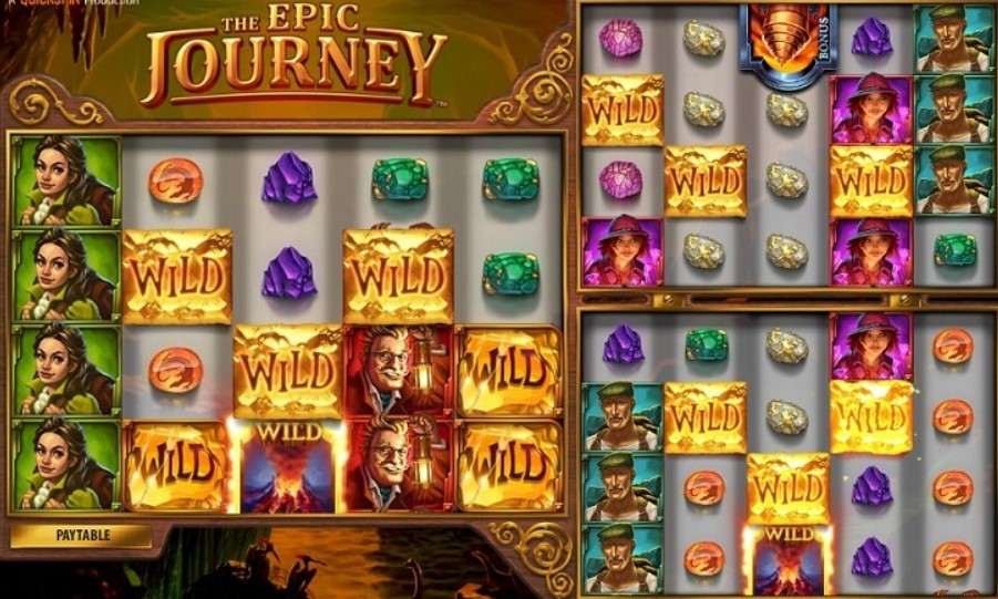 Epic Journey Slot Machine - How to Play
