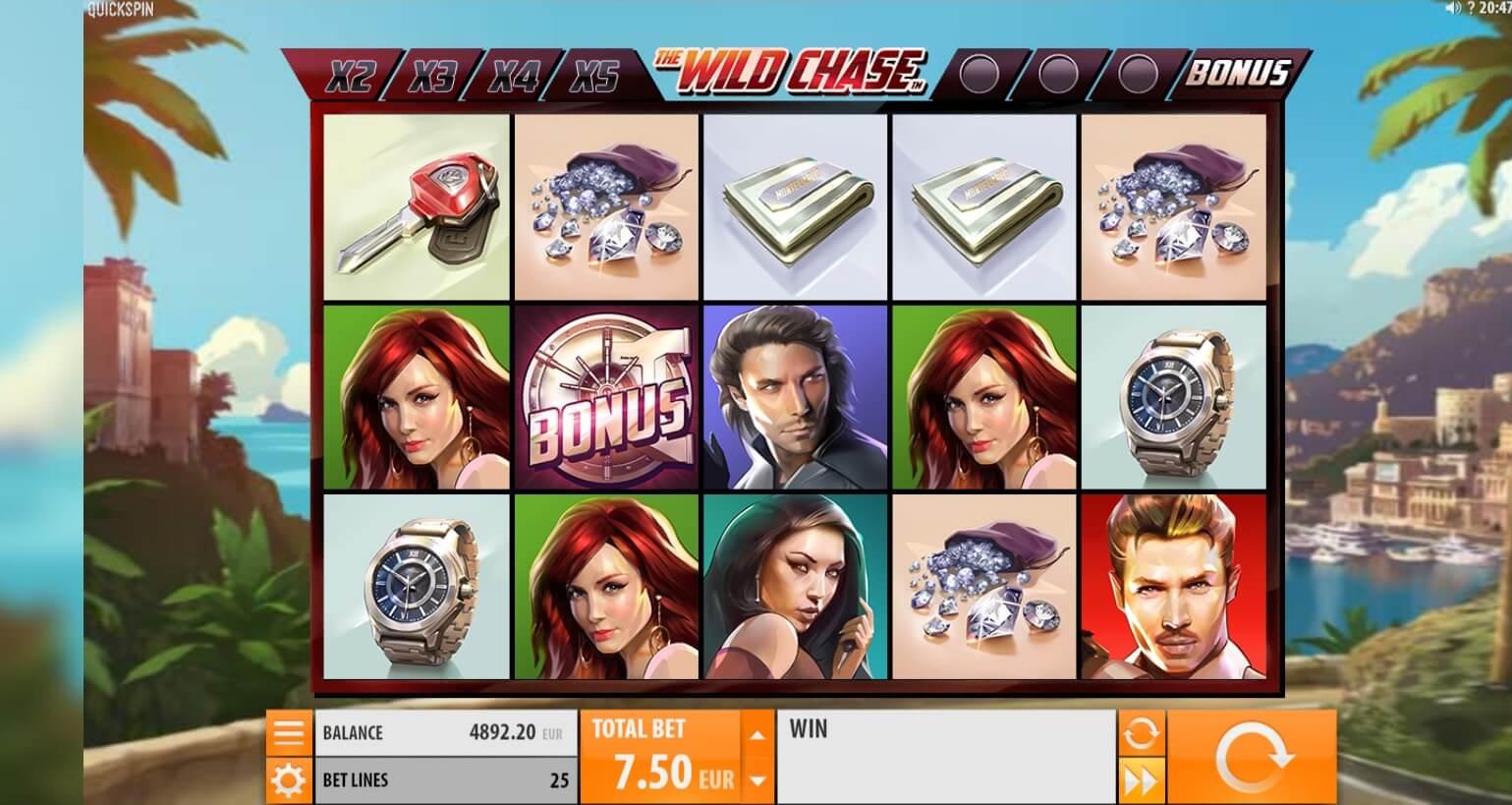 Wild Chase Slot Machine - How to Play