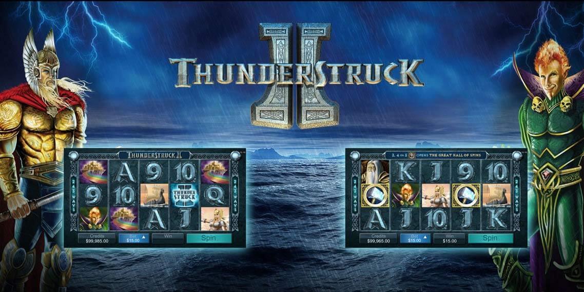 Thunderstruck II Slot Game Symbols and Winning Combinations