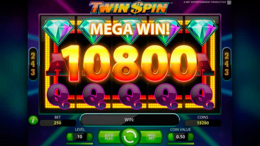 Twin Spin Slot Machine - How to Play