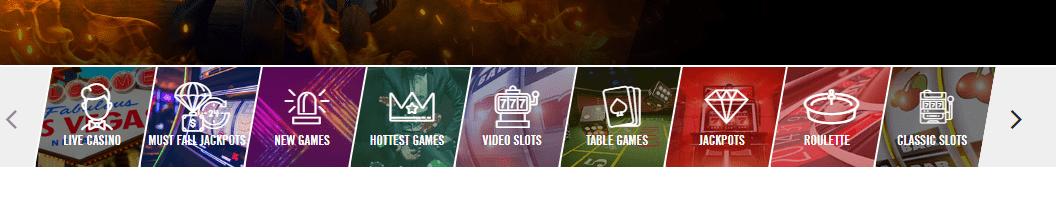 vegashero casino games