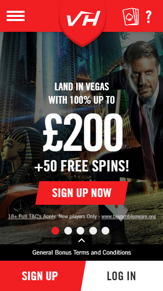 Vegas Hero iOS & Android mobile devices