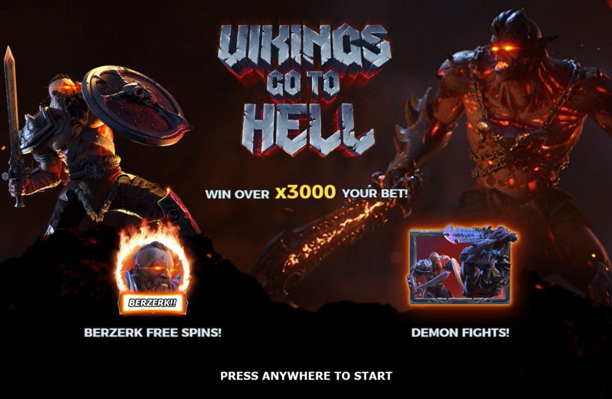 Vikings go to Hell Slot Game Symbols and Winning Combinations
