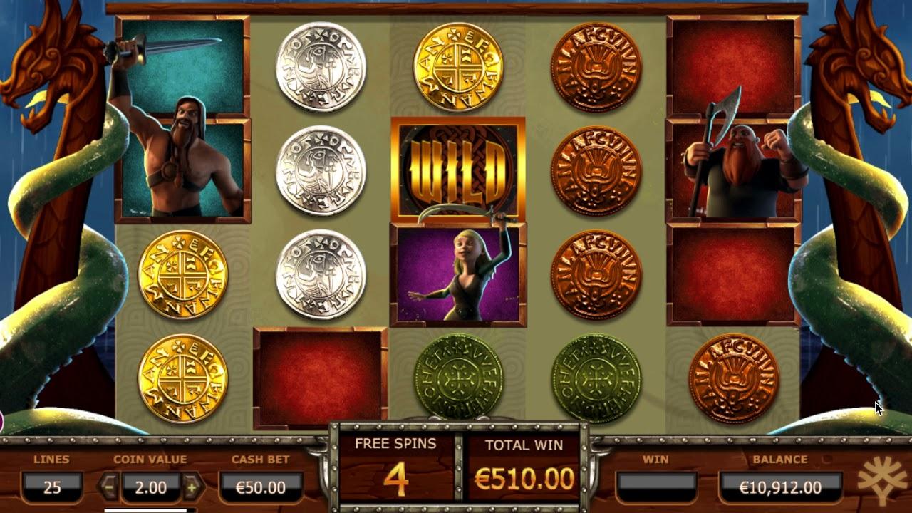 Vikings Go Berzerk Slot Machine - How to Play