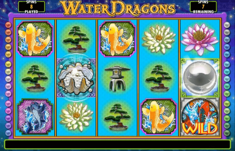 Water Dragons Slot Machine - How to Play