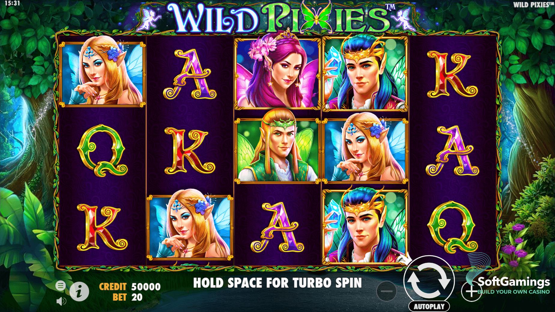 Wild Pixies Slot Game Symbols and Winning Combinations